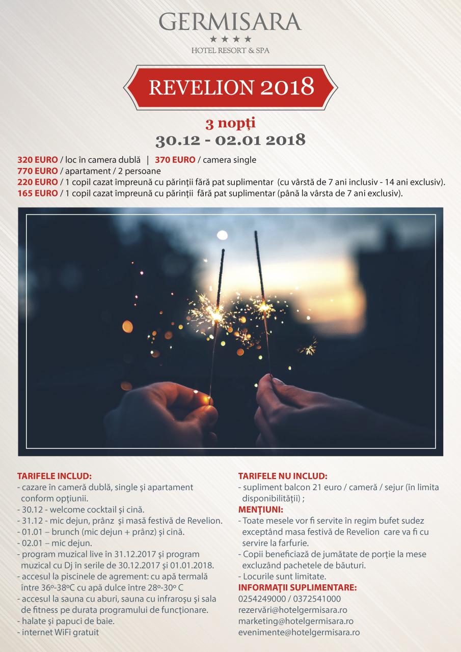 Hotel Germisara - Oferta de Revelion 2018