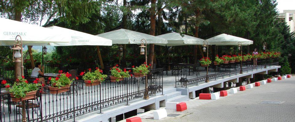 Terasa de vară Hotel Germisara